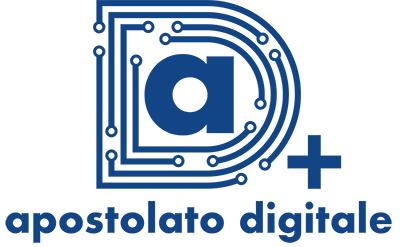 logo apostolato digitale, una a dentro una di fatta di connettori